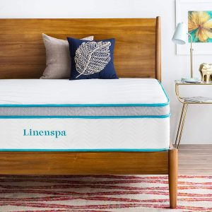 "Linenspa 12"" Best Memory Foam Mattress"
